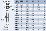 Spanner gaffel - stud M12 x 6mm_6