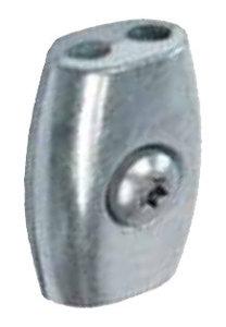 Kabelklem ei-vorm 2mm
